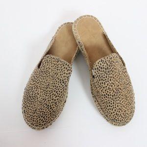 Universal Thread Cheetah Print Espadrille Loafers